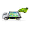 8 CBM rear compression type garbage truck