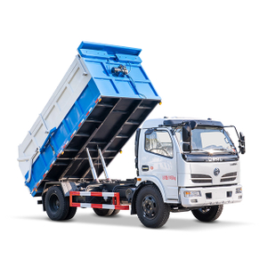 5 CBM box type garbage dumper