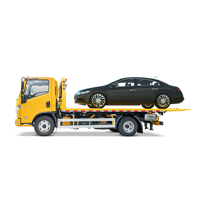 Isuzu one towing one type Platform Tow Truck
