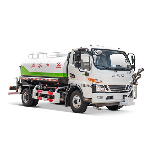 JAC 5 CBM water tank sprinkler with automatic water cannon